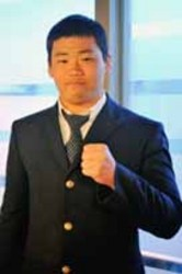 高川学園元ラガーマン相撲へ 原田さん、卒業控え決意