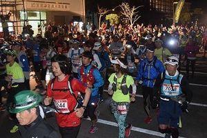 やんばる路、100キロ駆ける NAGOURAマラソンに