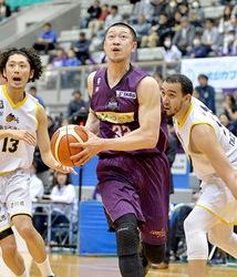 バスケB2山形、終盤突き放す 香川戦、77-69で勝利