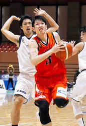 バスケB2交流戦 愛媛OV勢い7連勝、東京Zに65―55