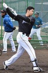 日本ハム 大谷は3・11に初実戦 指名打者で出場濃厚