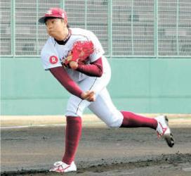 楽天  戸村、教育リーグで手術後初先発