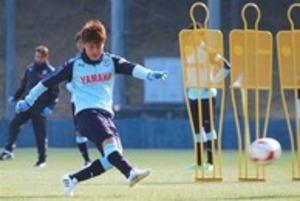 J1磐田 松本昌也「感謝と勇気、福島へ」 3・11大宮戦へ決意