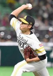 日本ハム 加藤、制球良く4回1失点 ソ2-2日(8日)