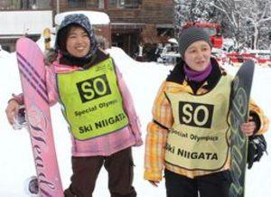 スペシャル五輪 冬季大会出場の上越市の2選手