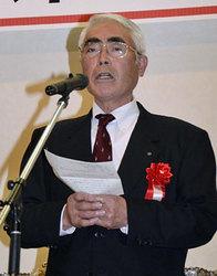 青森県素人アイスホッケー協会が40周年式典