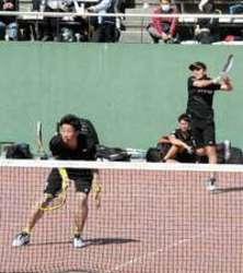ソフトテニス・アジア杯開幕  NTT西・広島(男子)16強
