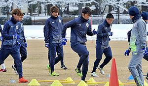 J2山形、12日勝ってホーム開幕戦へ アウェー熊本戦