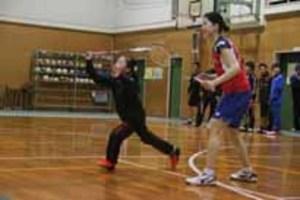 バド「ACT SAIKYO」4選手が子どもらと交流-周南