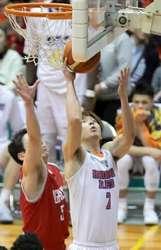 広島3連勝、島根は20連勝 バスケBリーグ2部