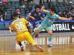 浜松、決勝ラウンド逃す フットサル全日本選手権