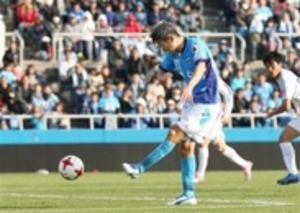 J2横浜FC50歳カズ、J最年長ゴール 群馬戦で記録更新