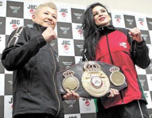 女子フライ級・藤岡奈穂子 ボクシング4階級制覇に挑む
