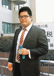 パワーリフティング選手 神奈川県職員松沢孝信さん