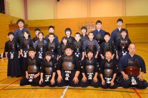 剣道 全国大会の団体戦 道代表の森町スポーツ少年団