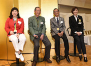五輪への思い語る 津で三重県スポーツ人の集い 土性ら参加