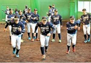 BCリーグ 福井、悲願の優勝へ 福井市でキャンプイン