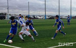 サッカー 横須賀で本格サッカー場 完成記念の試合