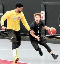 バスケBリーグ仙台 石川、司令塔対決に挑む