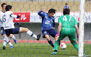 J3富山、開幕2連勝 鹿児島に1-0
