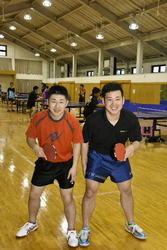 中国遠征で卓球トレーニング