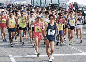 松永、加賀路で世界切符 全日本競歩能美大会男子20キロ