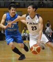 ALSOK4強逃す 全日本クラブバスケット