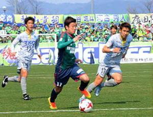 J3鳥取 ホーム開幕戦ドロー