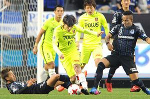 J1浦和、G大阪に1―1 ラファ、ロスタイムにPK決め追い付く