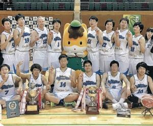 ブルスパ悲願の日本一 全日本クラブバスケット