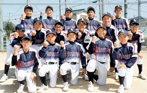 春季全日本小学生男子大会  ソフト・中萩JSS(新居浜)、全国へ