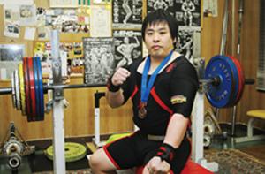 ベンチプレス 全日本選手権 洞爺湖の斎藤が93キロ級3位