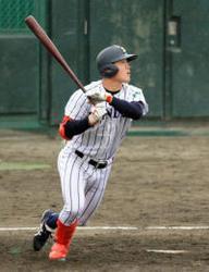 東北の選手の進路 仙台大の松本内野手、ホンダ鈴鹿へ