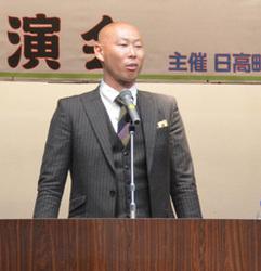 つらいことチャンスに 元日ハム・森本稀哲さん、日高で講演会