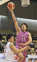 バスケB2福島、岩手に競り負け2連敗