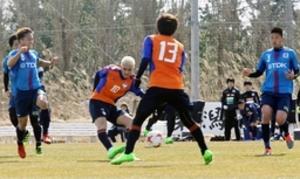 J1新潟練習試合、J3秋田に6-0