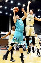 京都惜敗、滋賀は逆転勝ち バスケ・Bリーグ