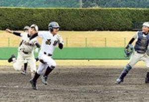 伊東南中、4強ならず 全日本少年春季軟式野球