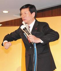 五輪パラへ意欲 知事選3選の森田知事「千葉の人情が目玉」