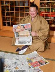 大相撲 稀勢の里「一生の思い出」 逆転優勝の春場所振り返る