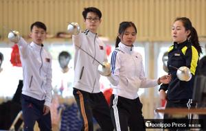 フェンシングの町 東京五輪へモンゴル選手合宿