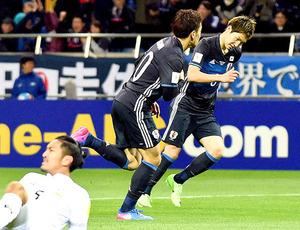 サッカーW杯 タイに快勝、最終予選 川島、原口ら貢献