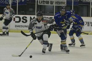 アジアリーグ アイスホッケー 東北ブレイズ、ハルラに3連敗で敗退
