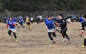 ラグビー 創設40年記念の熱戦 栃木県北のクラブ「でんでん虫」