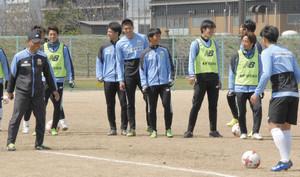 J2岐阜 大木サッカー、選手に迷いなし