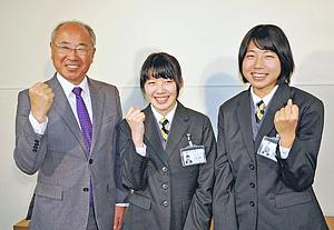 東京五輪目標!新戦力に小野、青木選手 東邦銀行・陸上競技部