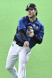 日本ハム 有原、初の開幕投手
