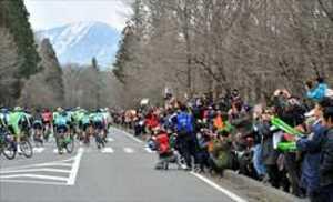 1万8千人沿道で声援 自転車ツール・ド・とちぎ