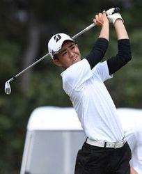 宮古島から全国狙う 全琉アマゴルフ1打差2位、多良間伸平