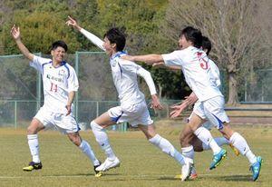 サッカー天皇杯高知予選2日決勝 高知ユナイテッド-高知大
